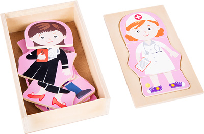 Dream Job - Girls Dress-Up Puzzle