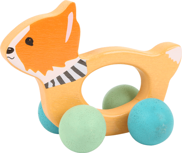 Lex the Fox Grip Toy on Rollers