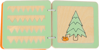 Lex the Fox Baby Book (patterns)