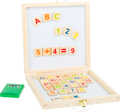 Blackboard Box Magnetic Letters and Numbers