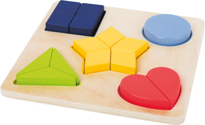 "Shape-fitting Puzzle ""Educate"""