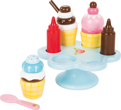Ice Cream Cone Holder with Sauce
