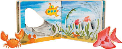 Picture Book Underwater World, interactive
