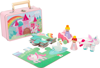 Unicorn Play Set in a Case