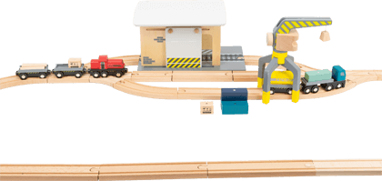 Freight Depot with Accessories