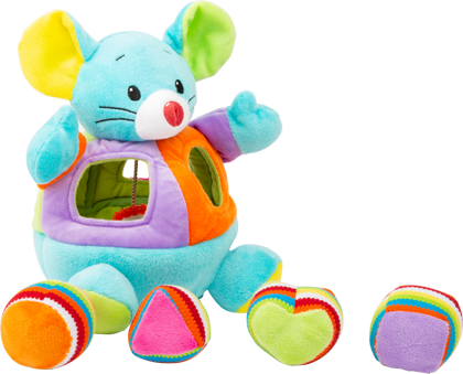 Shapes Mouse Plush Toy