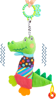 Cloth Crocodile Baby Toy