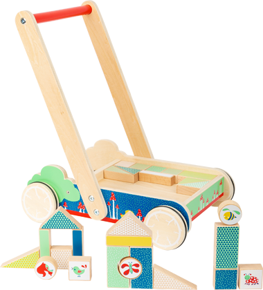 "Building Blocks Baby Walker ""Move it!"""