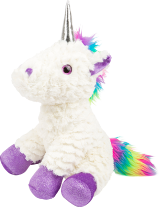 Unicorn Plush Toy, purple