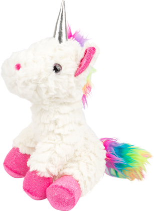 Unicorn Plush Toy, pink