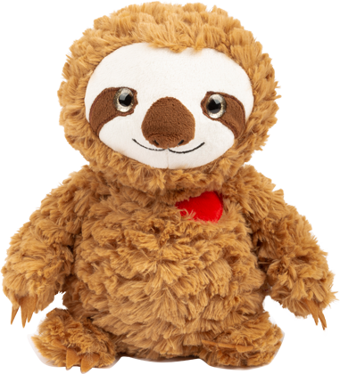 Sloth Cuddly Toy with Heart