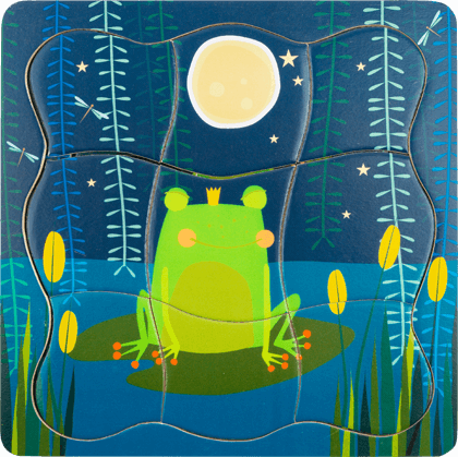 Layer Puzzle Frog King
