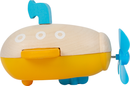 Water Toy Wind-Up Submarine