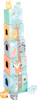 Stacking Tower Pastel