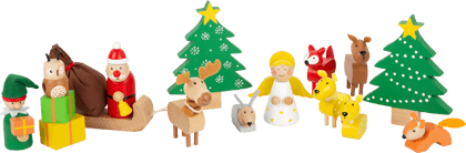 Play Set Animals' Forest Christmas