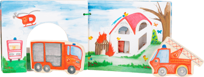 Fire Brigade Picture Book, interactive