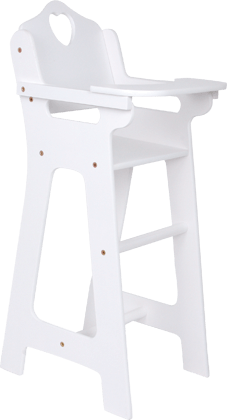 Doll's Highchair with Folding Table