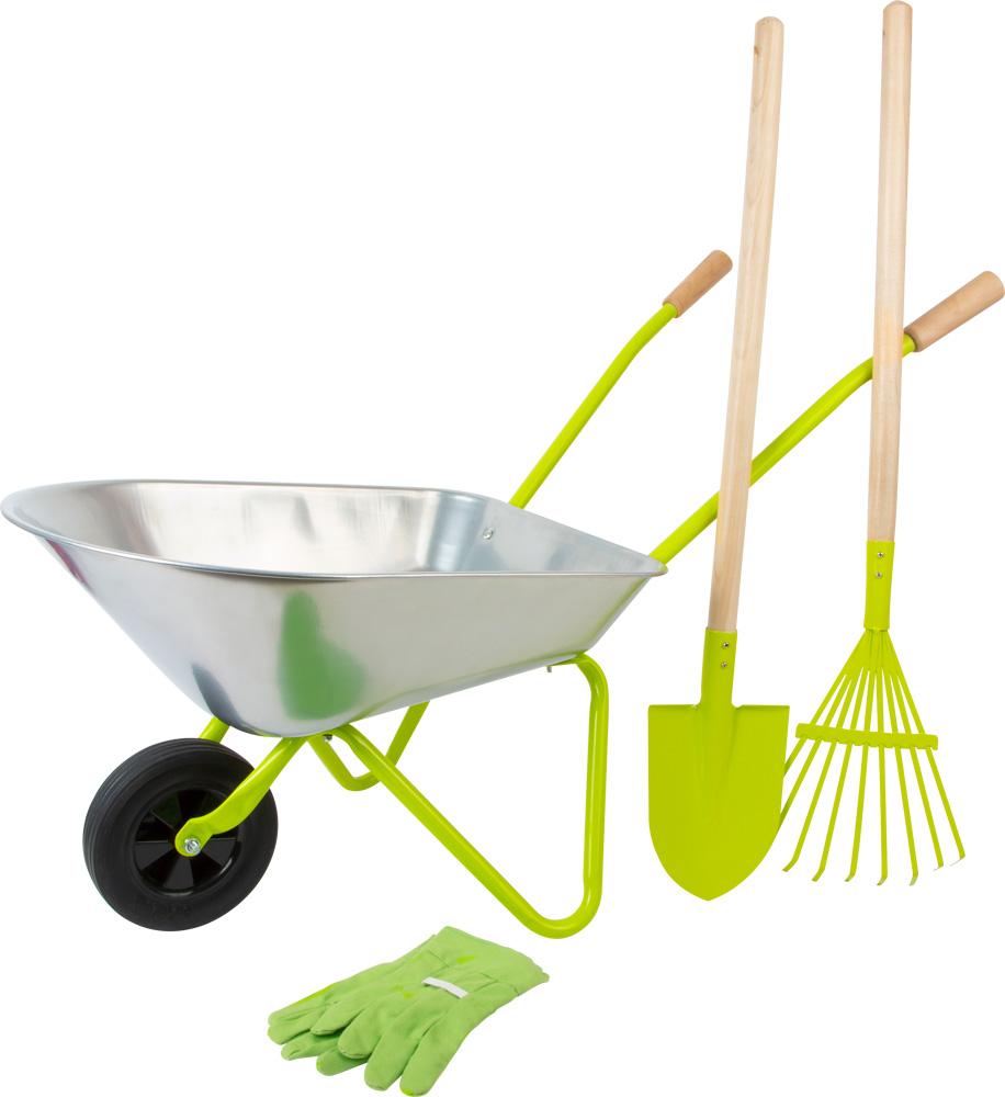 Les Outils De Jardinage Avec Photos brouette avec outils de jardin | small foot