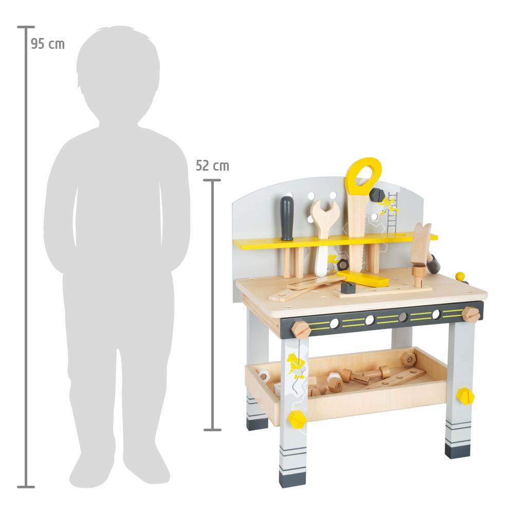 Hämmern Schrauben Werken Kinderwerbank Werkbank Miniwob Kompakt